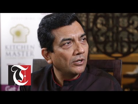 Celebrity Chef Sanjeev Kapoor speaks exclusively to Times TV at the Yellow Chicken restaurant at the Panorama Mall, 24 August 2016.