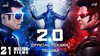 Video 2.0 - Official Teaser [Telugu] | Rajinikanth | Akshay Kumar | A R Rahman | Shankar | Subaskaran MP3, 3GP, MP4, WEBM, AVI, FLV Januari 2019