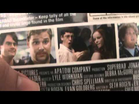 Superbad Blu-Ray Unboxing