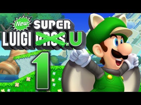 new super luigi u wii u trailer