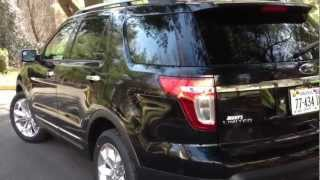 2013 Ford Explorer Eco-Boost Review, Walk Around, Start Up&Rev, Test Drive