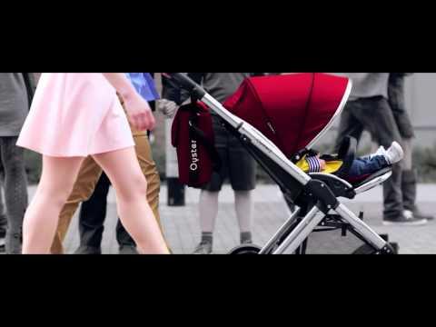Универсальная коляска 2 в 1 BabyStyle Oyster 2 Grape / Mirror