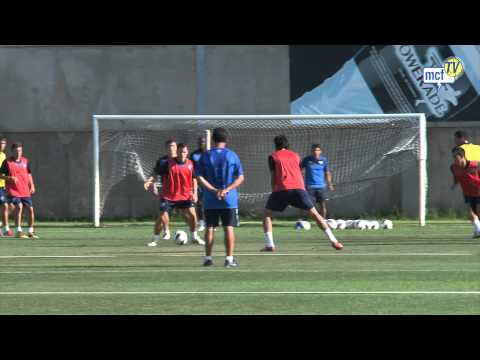 Entrenamiento Anexo La Rosaleda