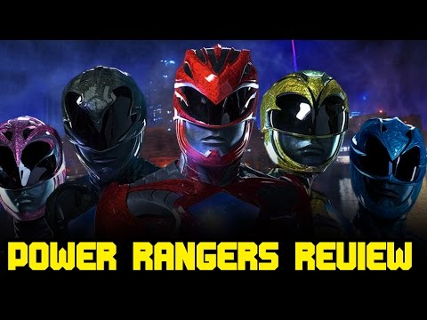 I'm a Power Ranger!!! Power Rangers Movie Review with ComicsExplained! (видео)