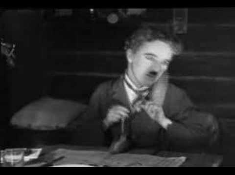 Charlie Chaplin Table Ballet Scene