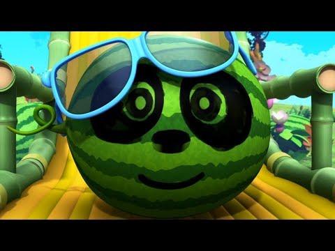 Кротик и Панда -Арбузные семечки - серия 29- развивающий мультфильм для детей