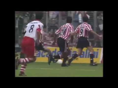 Athletic 6 – Logoñes 0 (Hat Trick Julen Guerrero)