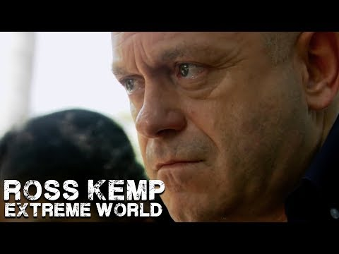 I don't think I've ever seen someone look more disgusted. Ross Kemp interviews a human trafficker