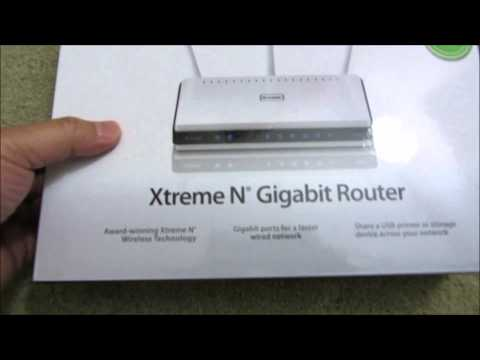 How to unbox/setup the Dlink dir-655 N300 Gigabit Router
