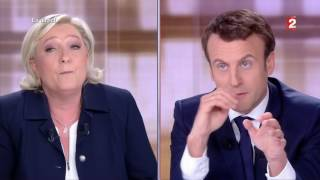 Video Macron VS Le Pen Au Grand Débat - 1er Partie (03/05/17) MP3, 3GP, MP4, WEBM, AVI, FLV Juni 2017