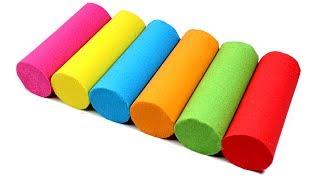 Video Learn Colors DIY Kinetic Sand Candy Bars and Kinetic Sand Foot Rainbow for Kids MP3, 3GP, MP4, WEBM, AVI, FLV Juni 2017