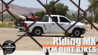 "Thumbs up and subscribe for more moto videos. Thanks for watching. YouTube Link https://youtu.be/2xBK9jYUTuEWebsite http://www.mxwc.com/Subscribe http://youtube.com/mxwebcamMXWEBCAM Presents: ""Riding MX - KTM Dirt Bikes - Motocross Video"" MXWCDIRTBIKES:KTM 450SXFILM LOCATION:Perris MX2 aka Perris RacewayCOUNTY:Riverside, CaliforniaPRODUCTION:mxwebcam - mxwc.com"