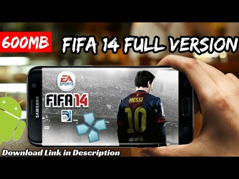 Download FIFA 14 For Android Highly Compressed (PPSSPP)