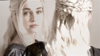 First video here! Quick time lapse to show how I styled my Daenerys wig (season 6 episode 9!) The wig is from Wigisfashion, color...