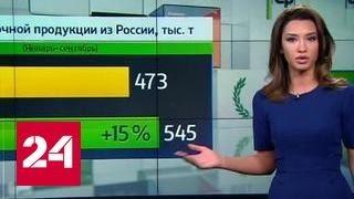 """""""Агроновости"""": Сможет ли Россия увеличить экспортные поставки молока?"""