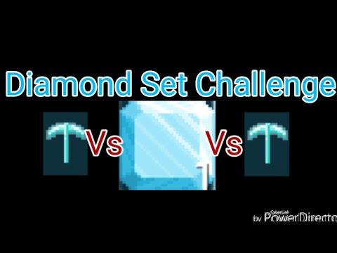 Growtopia - Diamond Set Challenge!