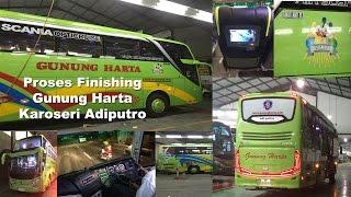 Video Finishing Caroseri Gunung Harta The best Fleet SHD Scania Matic MP3, 3GP, MP4, WEBM, AVI, FLV Agustus 2018