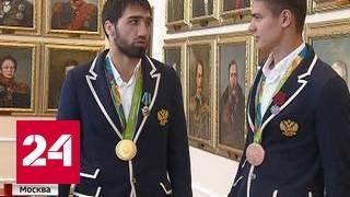 Колокольцев вручил награды сотрудникам МВД, взявшим медали на Играх в Рио