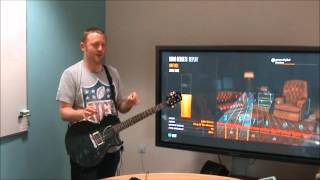 http://bit.ly/MIj4tp - Can Rocksmith really teach you how to play guitar? Four willing GAME staffers have stepped up to the challenge - how are they doing in their ...