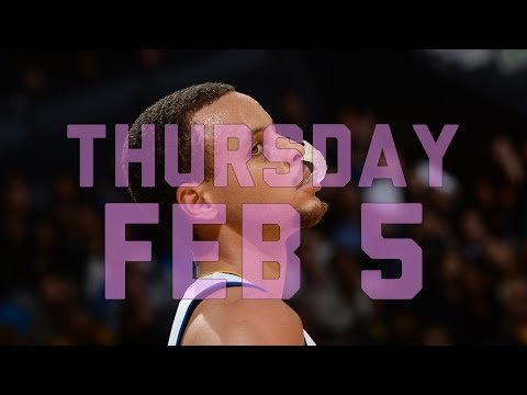 Video: NBA Daily Show: Feb. 5 – The Starters