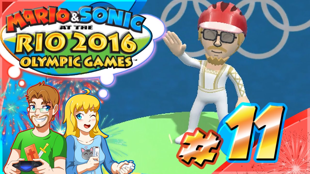 Mario & Sonic at the Rio Olympic Games Part 11 SWIMMING Tournament (HD)