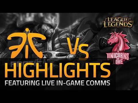 LCS 2015: Fnatic vs UoL Semi-Final Highlights