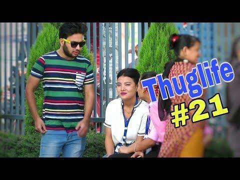 (Nepali Prank -  Thuglife #21 (PranksterAakash) - Duration: 10 minutes.)