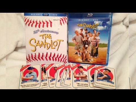 The Sandlot 20th Anniversary Edition Blu-ray/DVD Unboxing - (1993)