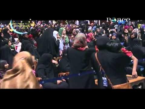 3 Sisters accepts Islam By Nouman Ali Khan , Dubai International Peace Convention Q&A
