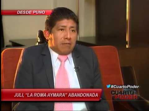 Juli, 'la Roma Aymara' abandonada