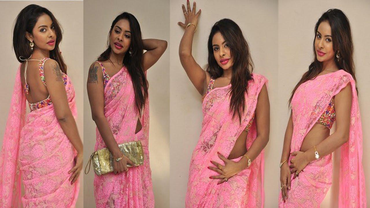 Actress Sri Reddy Pink Saree Hot Boobs HD Photos | తెలుగు హీరొయిన్ శ్రీ రెడ్డి ఫొటోస్
