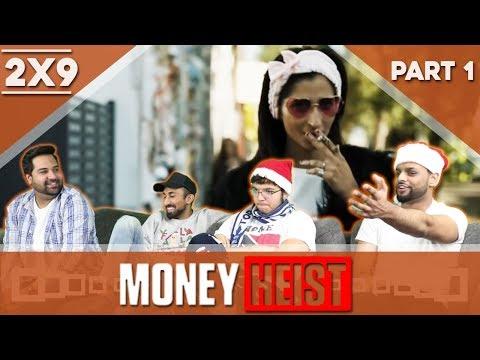 Money Heist | La Casa de Papel | 2x9 | REACTION | PART 1