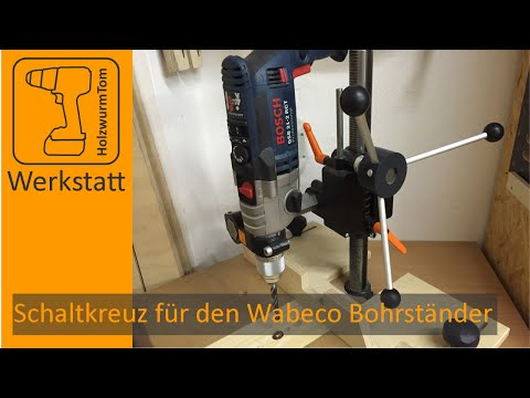 Schaltkreuz für den Wabeco Bohrständer - Turret Levers for the Drillpress