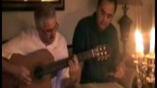 Mory&Kourosh Singing  Koohe Yakh By Ebi