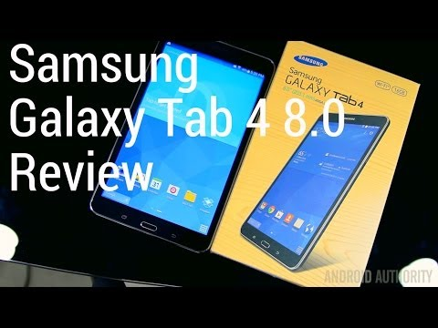 Samsung Galaxy Tab 4 8.0 Review
