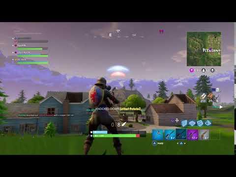 Fortnite 281m Sniper Kill