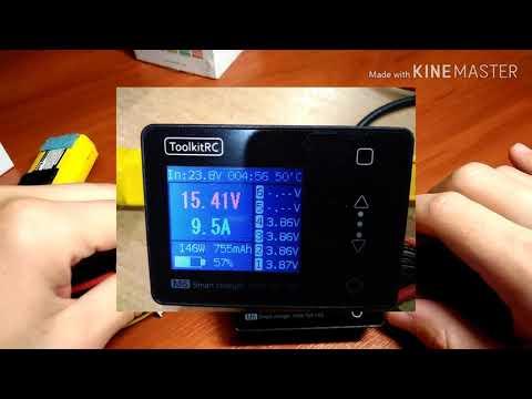 ToolkitRC M6 150W charger - обзор карманного зарядного устройства - комбайна (rus)