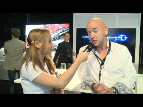 Gamescom 2012 - интервью с генеральным директором EA Russia