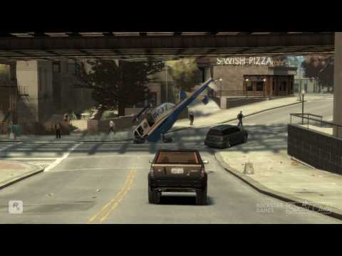 GTA 4 crashes and bloopers