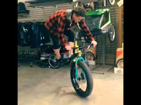Fat bike foot jam whip (видео)
