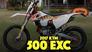 6. 2017 KTM 500 EXC - Six Days Edition | Close look and details!