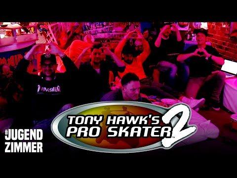 Tony Hawk's Pro Skater 2 | Jugendzimmer mit Jan Köppen, Andi, Etienne, Nils, Simon & Schröck