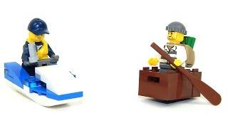 Lego City 30227 Police Watercraft Speed Build
