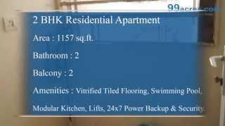 2 BHK, Residential Apartment in Indirapuram