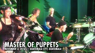 Guatemala City Guatemala  city pictures gallery : Metallica: Master of Puppets (MetOnTour - Guatemala City, Guatemala - 2016)