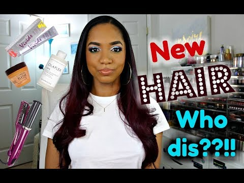 NEW HAIR Who Dis??!  Hair Color CHANGE and Haircare Products