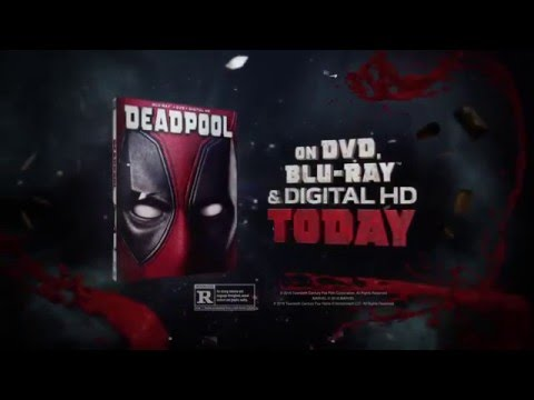 DEADPOOL (2016) Official BLU-RAY Movie Trailer #2 (Punch In The Balls) HD