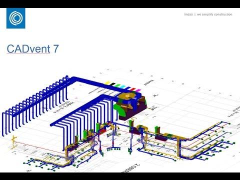 Lindab CADvent -3D Ventilation design, calculation and balancing