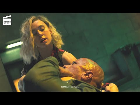 Fast and Furious: Hobbs and Shaw: Hobbs VS Hattie Shaw fight scene HD CLIP