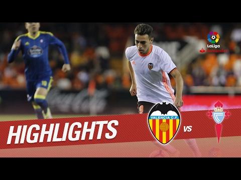 Resumen de Valencia CF vs RC Celta (3-2)